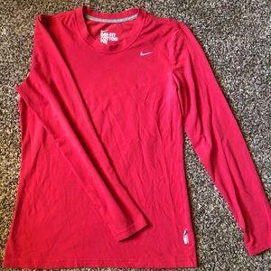 Nike Dri-Fit Cotton Long Sleeve